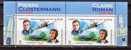 France PA 85 Closterman Et Claire Roman 2021 Haut De Feuille (feuille De 10) Neuf ** TB MNH Sin Charnela Faciale 9.42 - 1960-.... Neufs