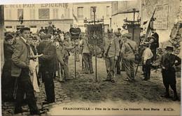 FRANCONVILLE—Fete De La Gare-Le Concert. Rue Paris - Franconville