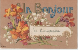 Calvados : CAMPEAUX  Prés  Vire :  Un  Bonjour - Andere Gemeenten