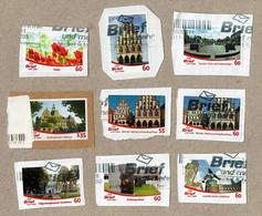 BRD - Privatpost- Briefundmehr - Lot Von 9 Verschiedenen Marken ( Stadtlohn, Münster, Blumen, Haltern, Dorsten ... ) - Privatpost