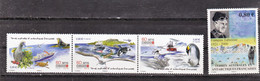 TAAF 746/749 Divers  2015 Neuf ** TB MNH Sin Charnela Faciale 3.2 - Unused Stamps