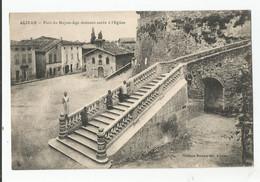26 Drome Alixan Pont Du Moyen Age Donnant Accès A L'église - Otros Municipios