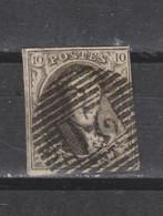 COB 10A Oblitéré P 21 BOUSSU - 1858-1862 Medallions (9/12)