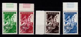 Monaco - Preo YV 19 à 22 N** Complete En NF Cote 22.50+ Euros - Voorafgestempeld