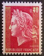 FRANCE Marianne De Cheffer N°1536Ba 2 Bandes De Phosphore Neuf ** - 1967-70 Marianne (Cheffer)