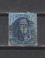 COB 11 Oblitéré P 113 TAMISE - 1858-1862 Medallions (9/12)