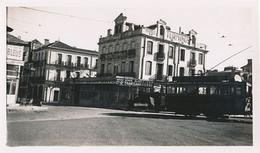 PERPIGNAN - TRAMWAY A LA GARE (PETITE PHOTO 11 X 8.5 ) - Places