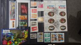 U30 Collection De Timbres, Blocs Et Carnets Oblitérés (ayant Circulés Pour La Plupart) De France. A Saisir !!! - Collezioni (in Album)