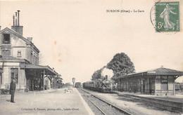 SURDON - La Gare - Train - Andere Gemeenten