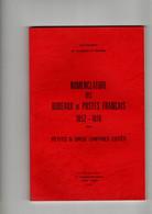 Nomenclature Des Bureaux De Postes Français 1852 1876 De Jean Pothion 1979 - Zonder Classificatie