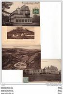 4 CPA Des Beaux CHATEAUX De FRANCE Ref  B..434 - Castles
