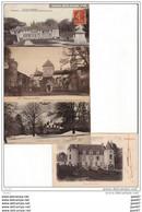 4 CPA Des Beaux CHATEAUX De FRANCE Ref  B..436 - Castles