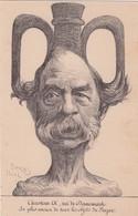 CPA : Illustrateur Orens , Christian IX Roi Du Danemark , Humour Politique - Orens