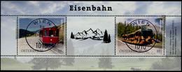 Eisenbahnen Markenedition 2 Österreich 2021 Gestempelt/used - 2011-... Afgestempeld