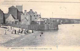 14 - ARROMANCHES : La Grande Cale à Marée Haute - CPA - Calvados - Arromanches