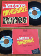 "RARE French SP BOF TV 45t RPM (7"") ""MISSION IMPOSSIBLE"" (1987) - Soundtracks, Film Music"