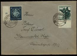 S5813 - DR Briefumschlag Mit PLZ 13b: Gebraucht Vilshoven - Neumarkt 1944, Bedarfserhaltung. - Brieven En Documenten