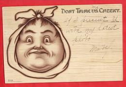 MEDICAL DENTIST DENTISTRY TEETH  COMIC HUMOUR  DON'T THINK US CHEEKY  Pu 1905 - Humor