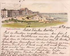 The Grand Parade, Eastbourne. 1898. - Eastbourne