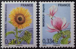 2911 - 2008 - PREO - FLORE - N°257 à 258  NEUFS** - 1989-....