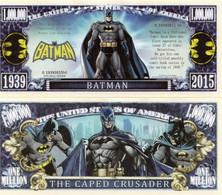 USA 1 Million Dollar Novelty Banknote 'Batman' (Comic Detectives) - NEW - UNC & CRISP - Autres - Amérique