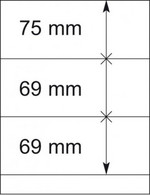Lindner Blankoblätter 802307 10 Blätter Neuwertig (VD299 - Fogli Bianchi
