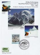 BROAD PEAK 2007 Golden Jubilee Expedition Hermann Buhl Diemberger Karakorum - Pakistan