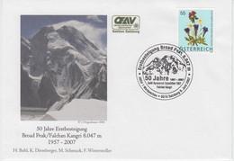 BROAD PEAK 2007 FDC Golden Jubilee Expedition Hermann Buhl Diemberger Karakorum - Pakistan