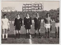 7/02/1969 , Reggio Calabria - Terna Arbitrale E Capitani Squadra(arbitro Giunti) -foto Originale Diara , Reggio Calabria - Sporten