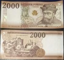 Hungary - 2000 Forint 2016 ( 2017 ) UNC P. 204a Lemberg-Zp - Hungary