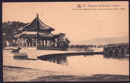 +++ CPA - Missions De SCHEUT - CHINE - Vue Du Lac Impérial Et Boeuf Sacré En Bronze - Nels // - Missions
