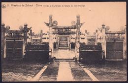 +++ CPA - Missions De SCHEUT - CHINE - Entrée Et Esplanade Du Temple Du Ciel - Nels // - Missions