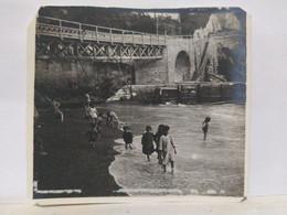 Italie. Gênes. Genova. Nervi. 1913. 9x8 Cm. - Lieux
