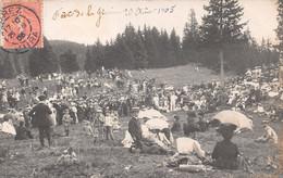 Carte-Photo - Fête De La Givrine 1905 - Animée - Mi-été Du Jura - Disctrict De Nyon - VD Waadt