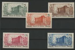 N° 72 à 76 Cote 125 € Neufs * (MH) (voir Description) - Unused Stamps