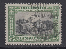 Colombia, Scott C133, Used, Signed Maier - Colombia