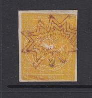 Ecuador, Scott 3a, Used, Star Cancel - Ecuador