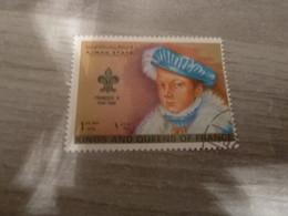 AJMAN - Trucial States - François II - Kings And Queens Of France - 1riyal - Air Mail - Oblitérés -  Année 1972 - - Ajman