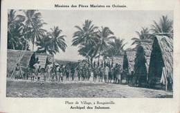Place De Village, à Bougainville - Papua Nuova Guinea