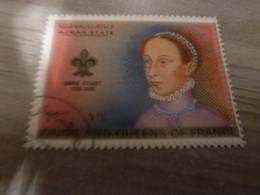 AJMAN - Trucial States - Marie Stuart - Kings And Queens Of France - 1riyal - Air Mail - Oblitérés -  Année 1972 - - Ajman
