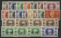 WALLIS ET FUTUNA N° 133 à 155 Cote 22,75 € Neufs Avec Charnières Très Légères * (MVLH). Vendus à 15 % De La Cote. - Unused Stamps