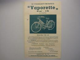 Vaporette 2PK / Bromfiets / Defco Nv Avenue De L'observatoire LUIK - Motorfietsen
