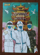 Thermometer,Syringe,red Cross Soldier,CN 20 Hangzhou Post Health Code Fighting COVID-19 Novel Coronavirus Pneumonia PSC - Enfermedades