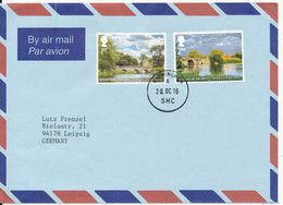 Great Britain Air Mail  Cover Sent To Germany 20-10-2016 Very Nice Cover - Covers & Documents