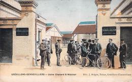92 -  GRESILLONS-GENNEVILLIERS , Usine Chenard&walcker - Gennevilliers