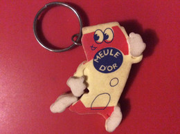 PORTE-CLES   MEULE D'OR  Fromage   11 - Key-rings