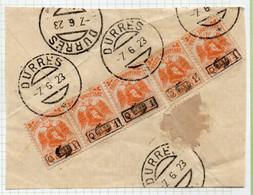 12CRT149 - ALBANIA  1922 , Yvert N. 127 Vari Usato - Albania