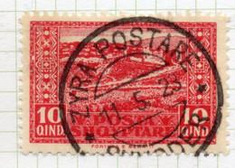 12CRT153 - ALBANIA  1922 , Yvert N. 122 Usato ZYRA POSTARE - Albanien