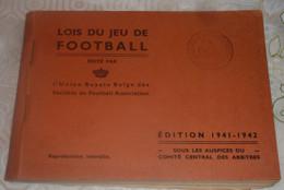 """ANCIENNE EDITION 1941 - 1942 """" LES REGLES DU JEU DE FOOTBALL """" Voir Les 4 Scans ! - Books"""