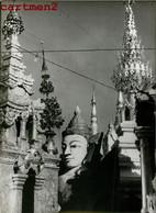 PHOTOGRAPHIE ANCIENNE : BIRMANIE MYANMAR BURMA TEMPLE BOUDDHISME ASIE - Myanmar (Burma)
